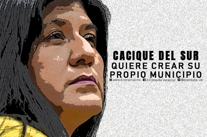 Diputada que perdió Senaduría, propone que su comunidad sea municipio
