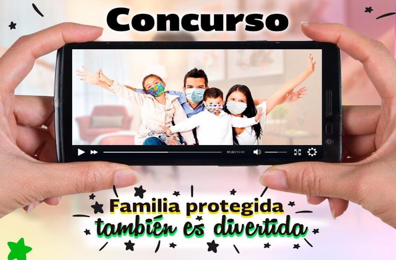 """Invitan a concurso """"Familia protegida también es divertida"""""""