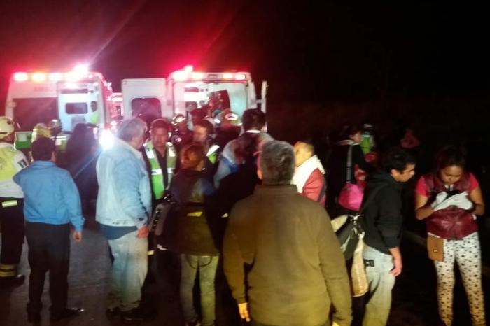 Lista de heridos en accidente de la Córdoba-Veracruz