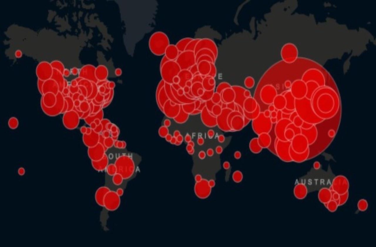 Ya son más de 210 mil casos de coronavirus en el mundo