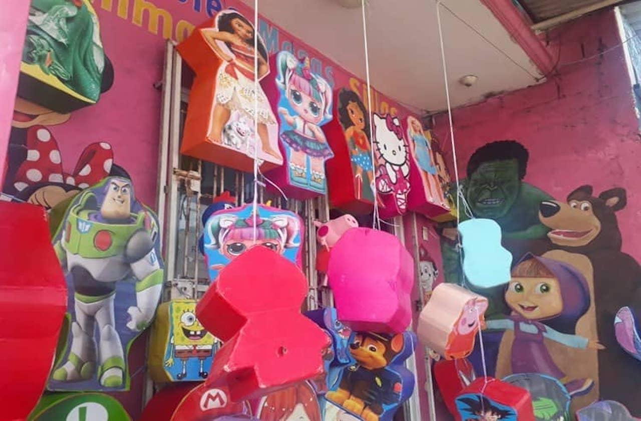 Covid dejó sin ventas de piñatas a