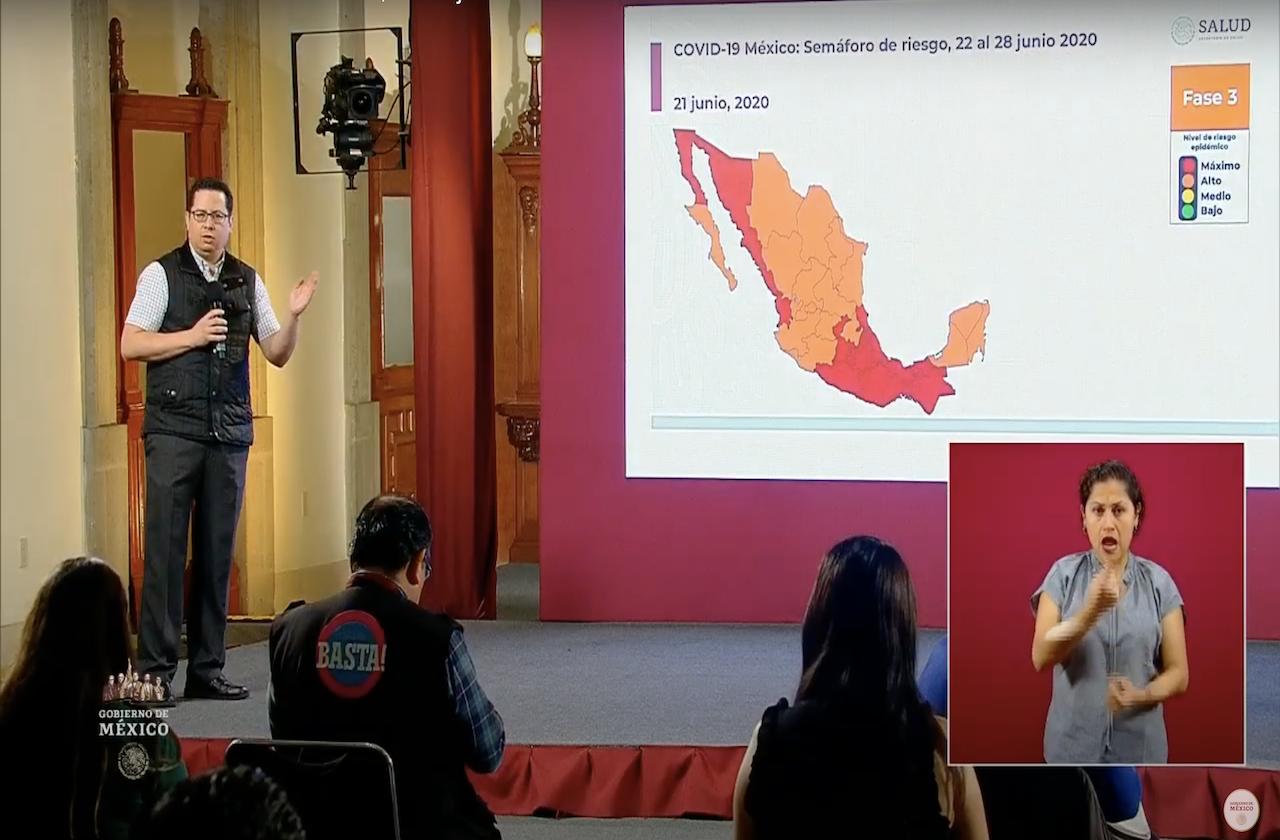 México vuelve a superar las mil muertes por covid en 24 horas