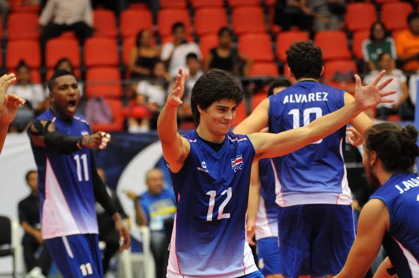Primera victoria para Costa Rica en el Norceca Continental