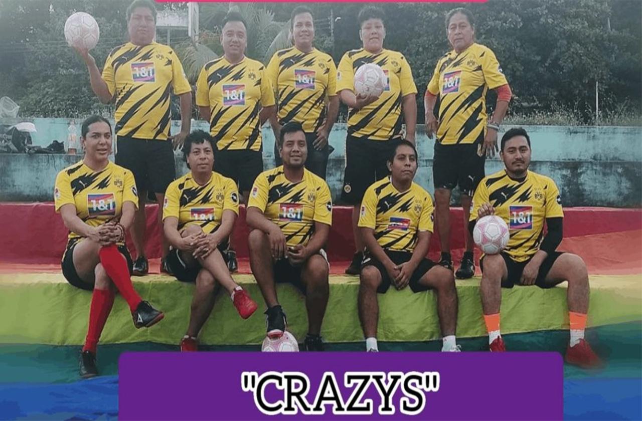 Las Crazys: equipo LGBT+ que revoluciona el futbol en Veracruz