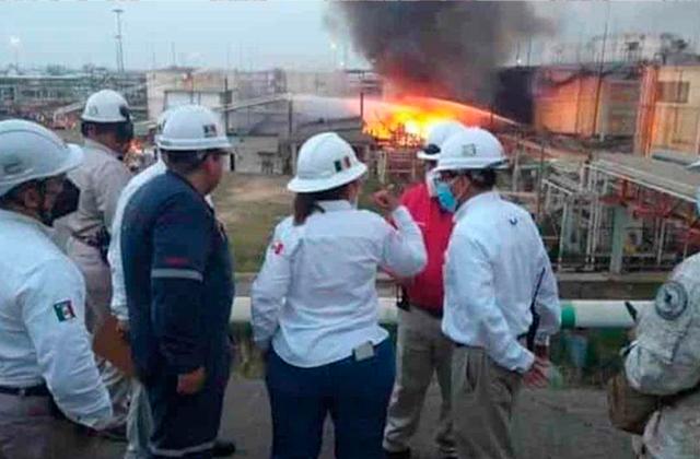 Crisis en PEMEX, van 3 incendios en refinerías en lo que va del año