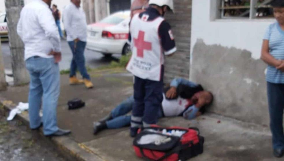 Taxista es linchado, lo acusan de abuso sexual contra mujer en Veracruz puerto