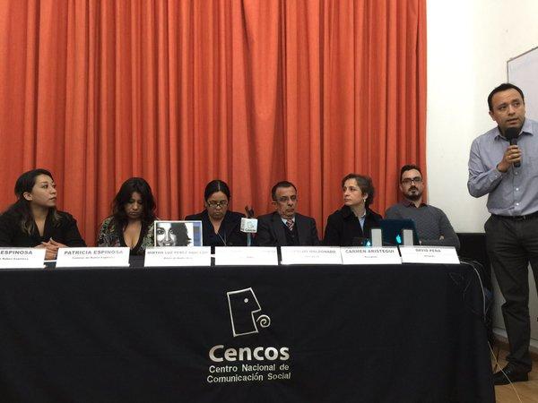 Presentan plataforma de acompañamiento por caso Narvarte