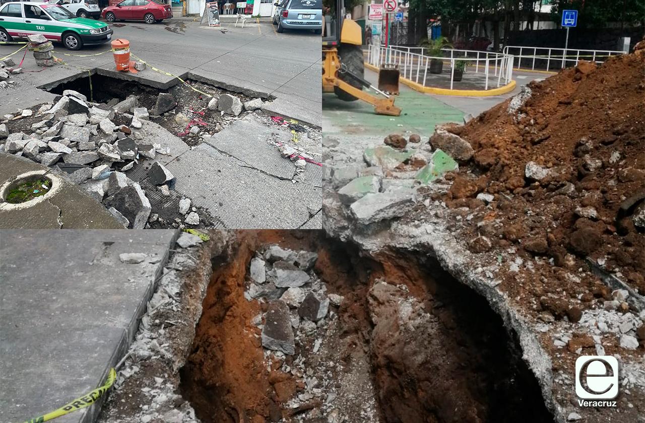 ¿Sabes qué ha generado socavones en Xalapa?