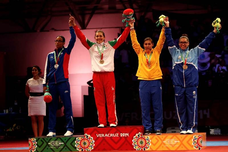 Suspenden de los JJC de Veracruz a atleta cubana por seña obscena