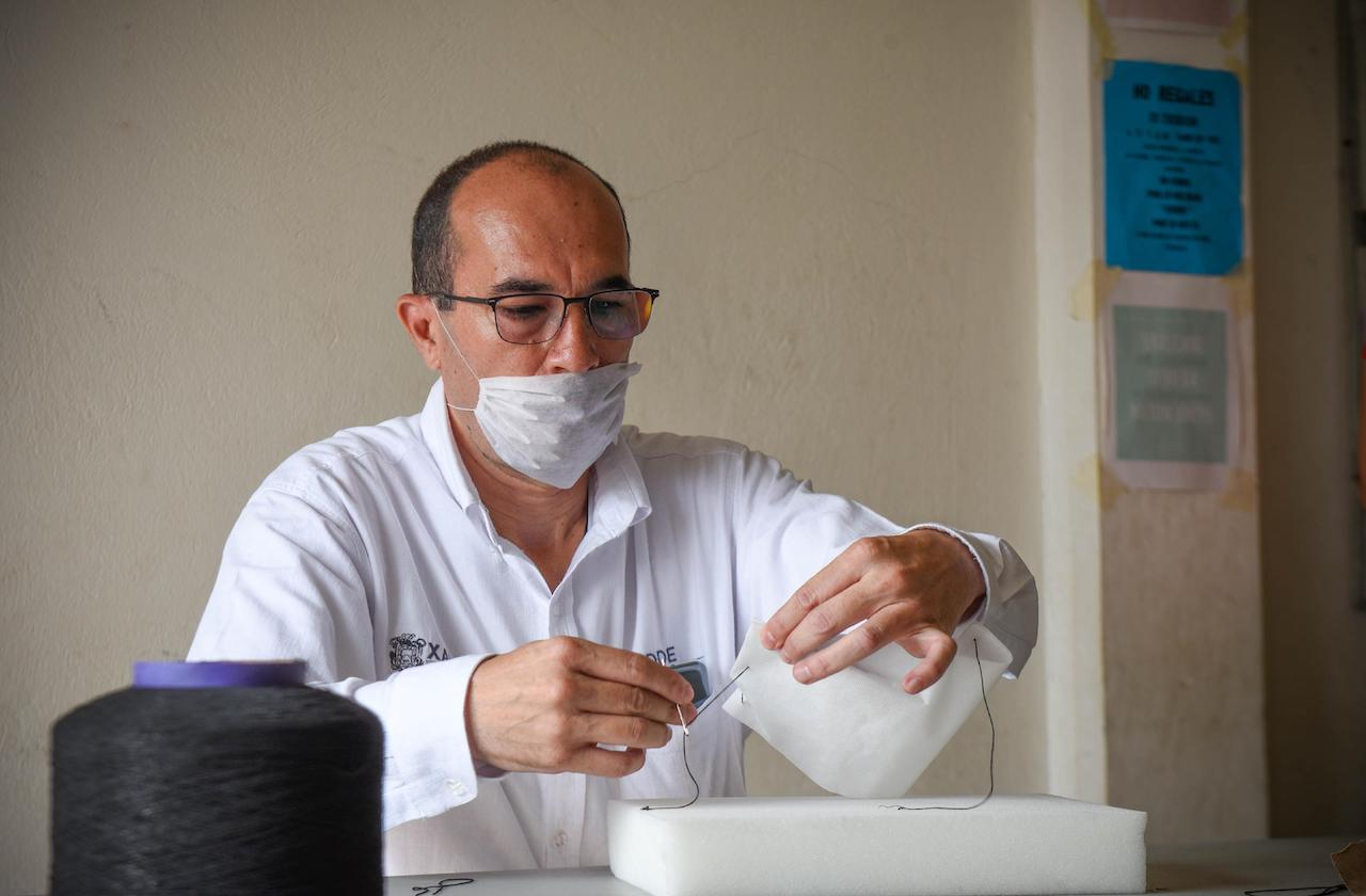 Ayuntamiento de Xalapa repartirá cubrebocas, es obligatorio su uso
