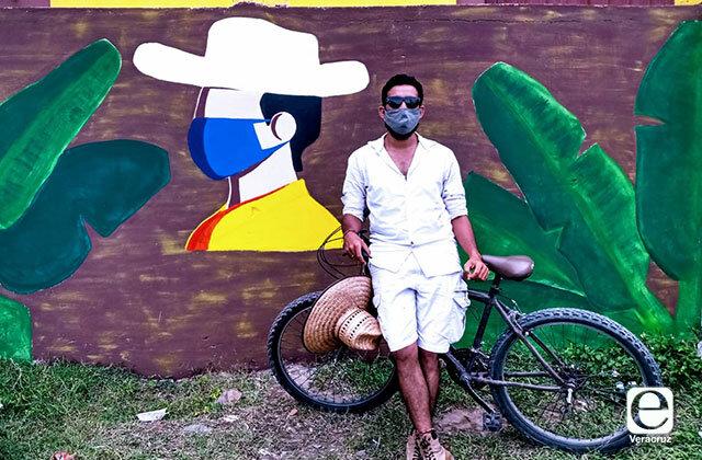 Con murales, concientizan sobre uso de cubrebocas en San Rafael