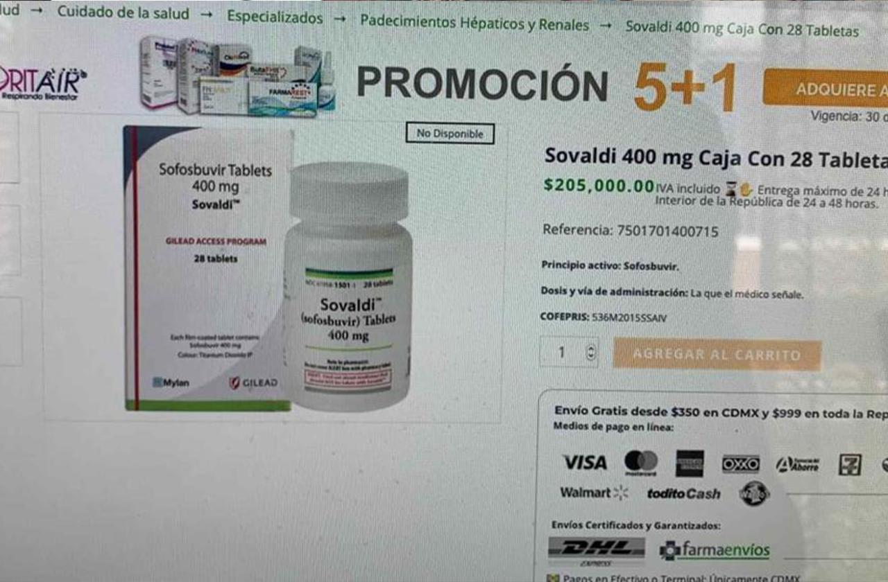 Esto cuesta medicamento vs covid avalado por científicos mexicanos
