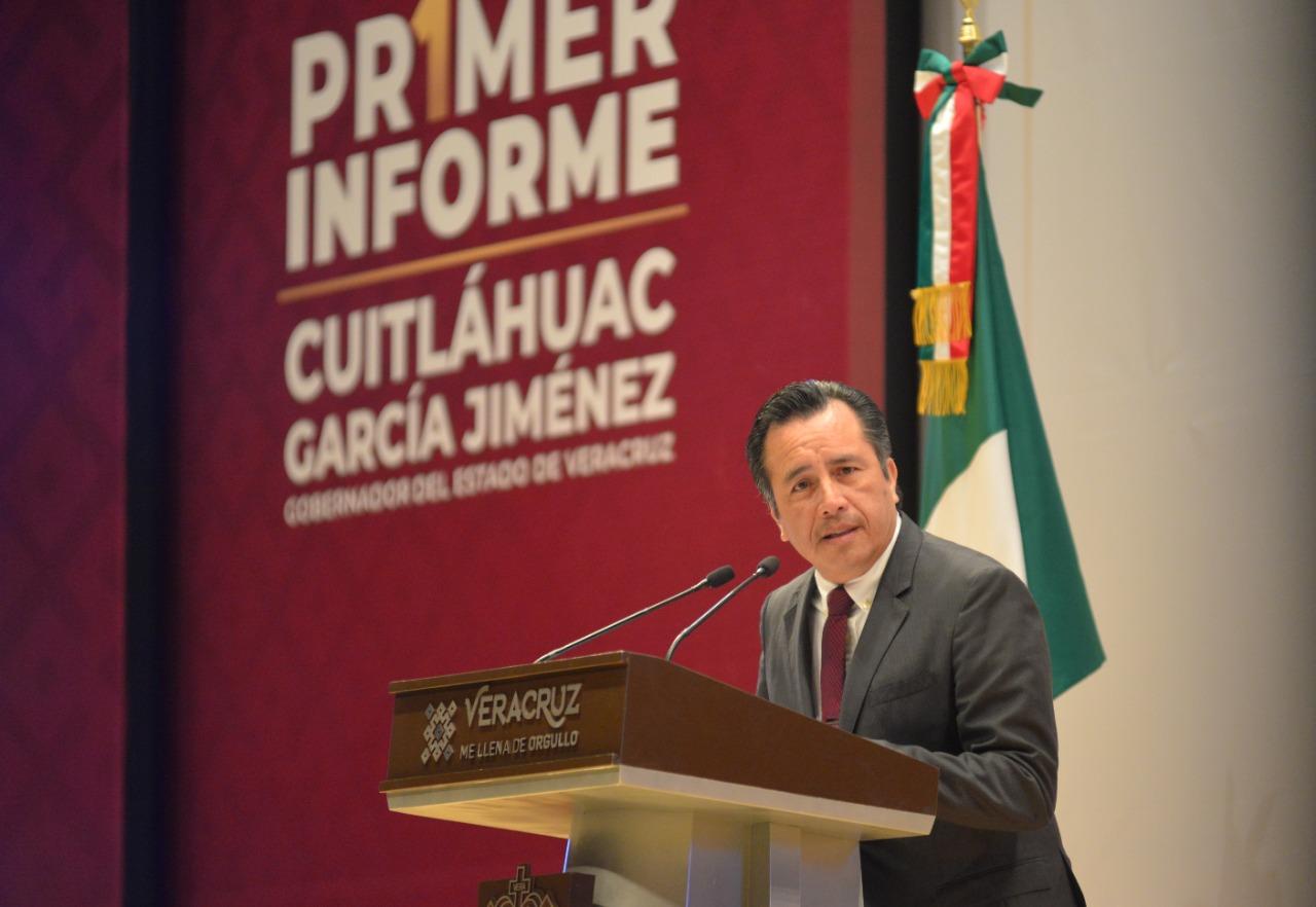 Las frases populares de Cuitláhuac García que marcaron su Primer Informe