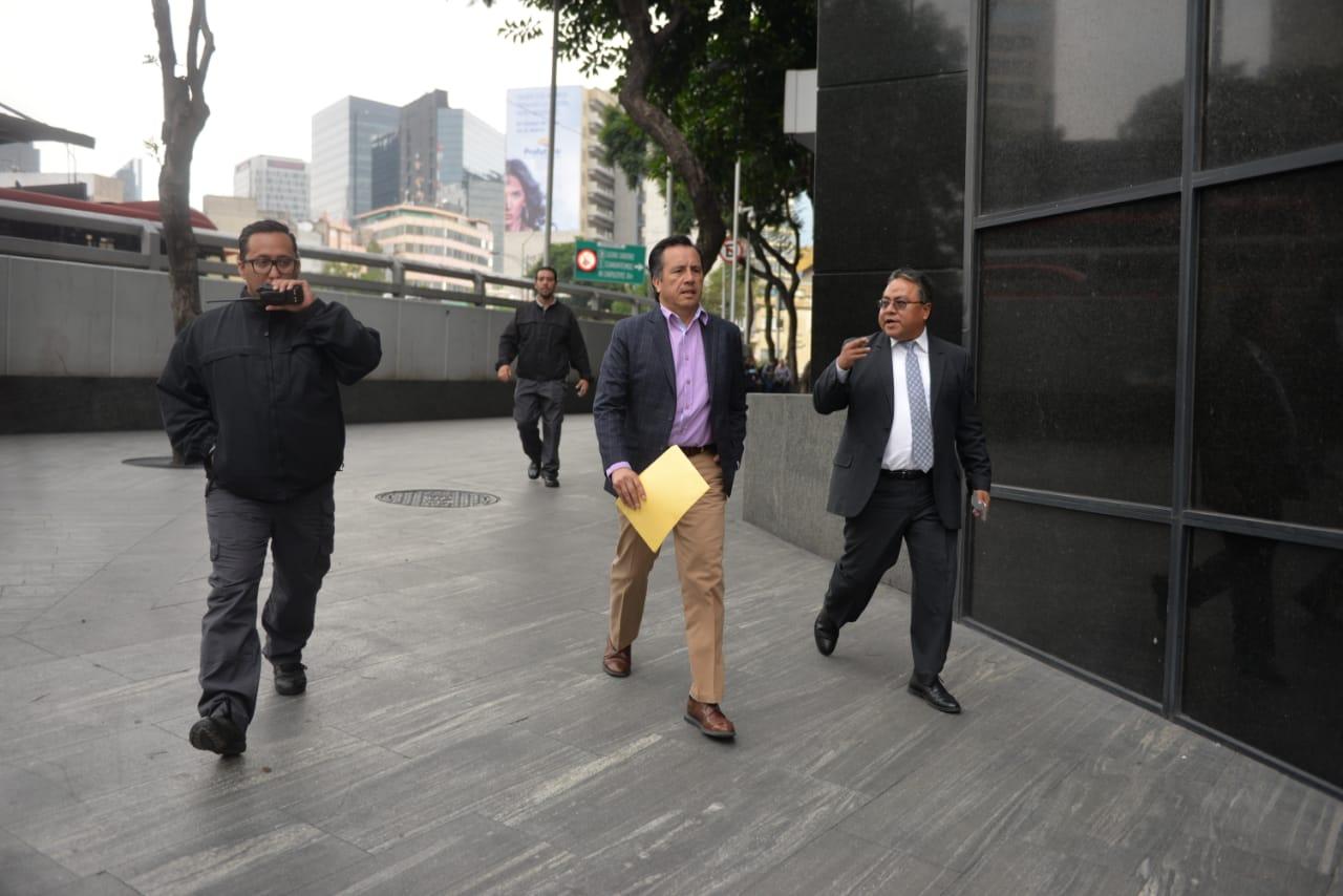 Cuitláhuac pidió a FGR avanzar en investigaciones contra Winckler