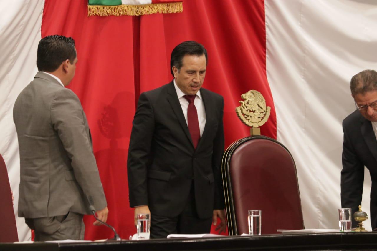 Puntos clave del discurso de Cuitláhuac García Jiménez
