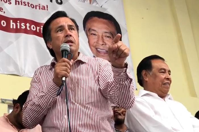 Cuitláhuac pedirá informes a PGR sobre denuncias contra Yunes