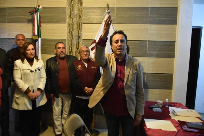 La pelea es entre Yunes Márquez y yo, asegura Cuitláhuac