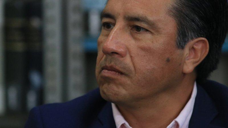 """Vamos a combatir """"limpias"""" de grupos delictivos, no hay pacto con ninguno: Cuitláhuac"""