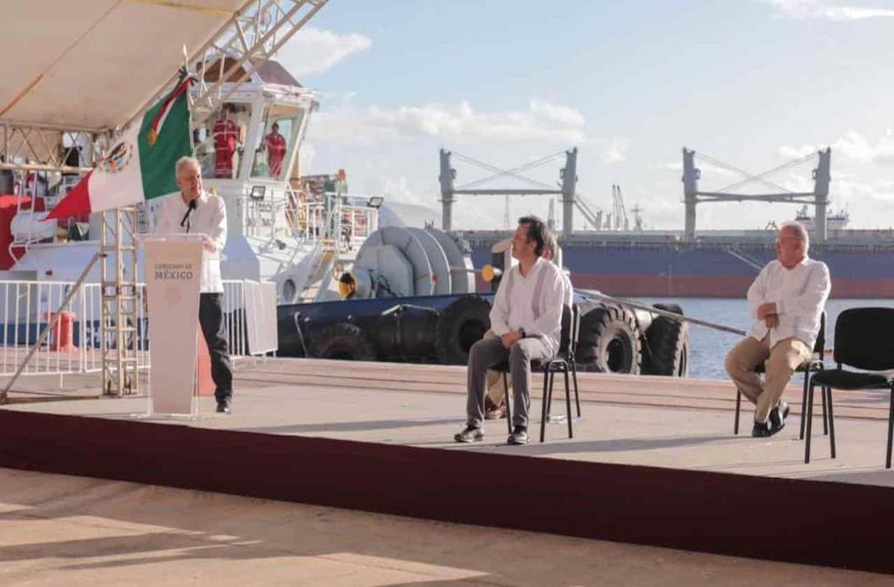 AMLO elogió repetidamente a Cuitláhuac en gira por Veracruz