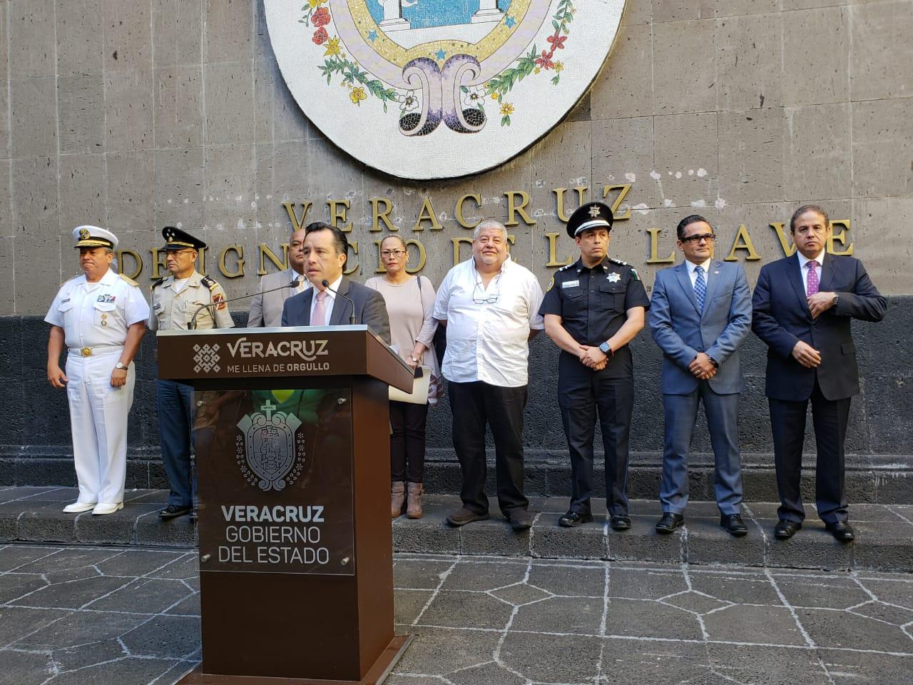 """Instala Cuitláhuac coordinación """"para la Construcción de la Paz"""""""