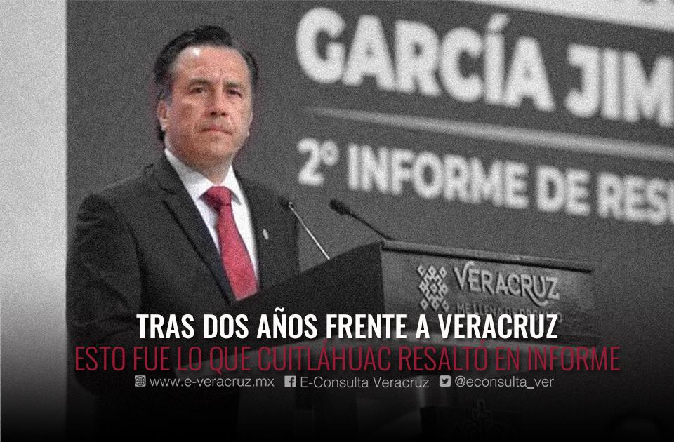 Siete puntos claves del Segundo Informe de Cuitláhuac García