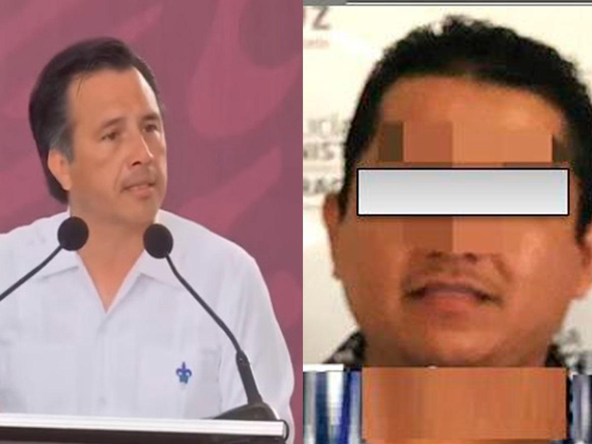 Mientras Cuitláhuac reclama a Winckler por plagios, cae funcionario suyo por secuestro