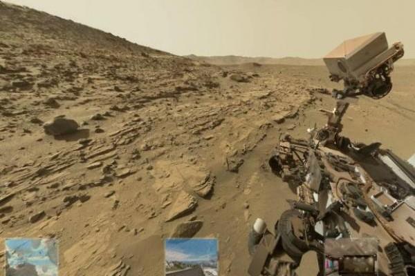 ¿Cómo 'llegar' a Marte y a la Luna?