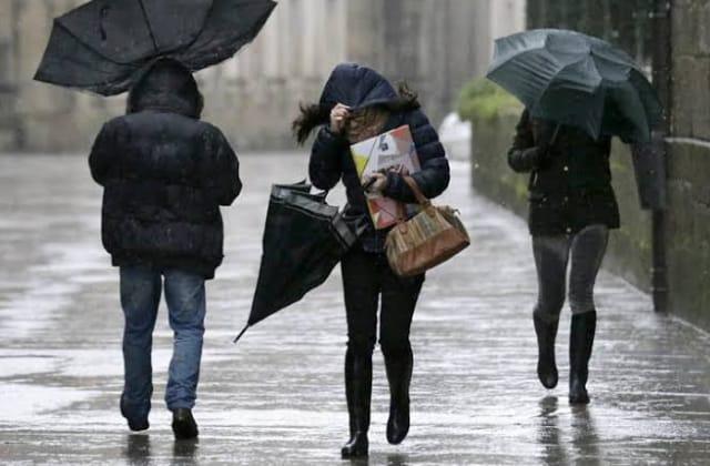 ¡Abrígate bien! Continuarán lluvias y vientos en Veracruz