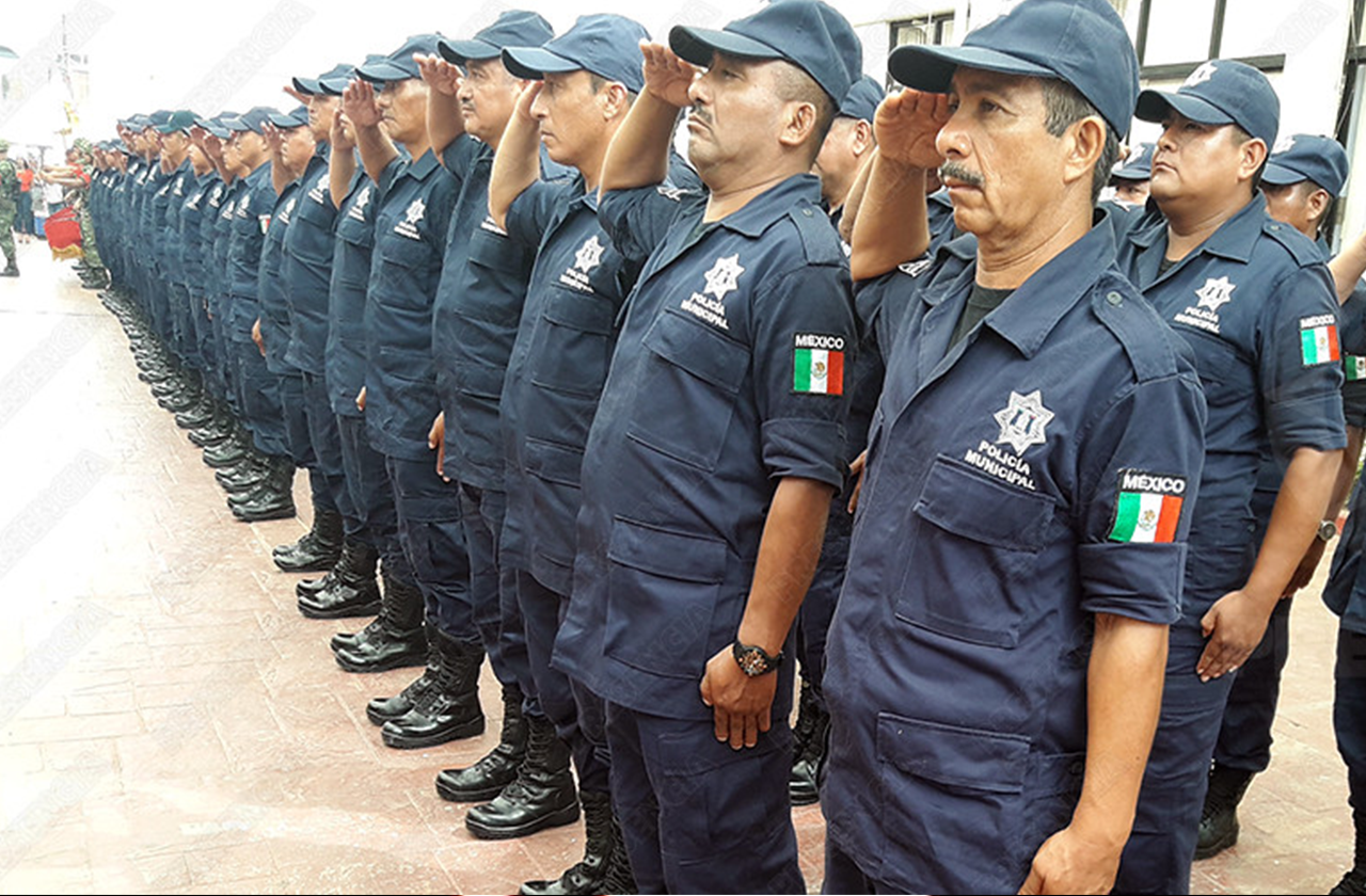 En el sur, policías son enviados a casa ante vulnerabilidad por covid