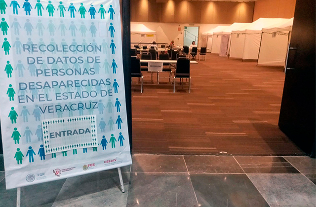 Da inicio jornada de recolección de datos de desaparecidos en Boca