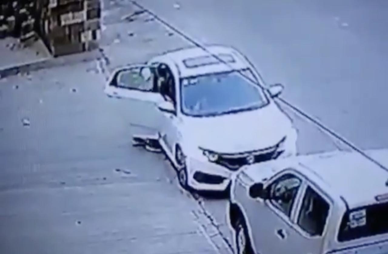 Dan con vehículo involucrado en robo de armas a ministeriales