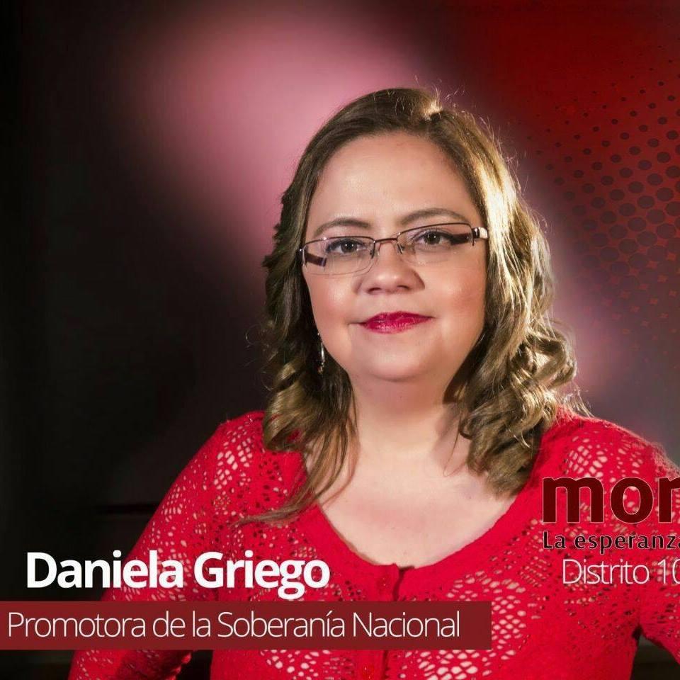 Me indigna la injusticia y la frivolidad: Daniela Griego