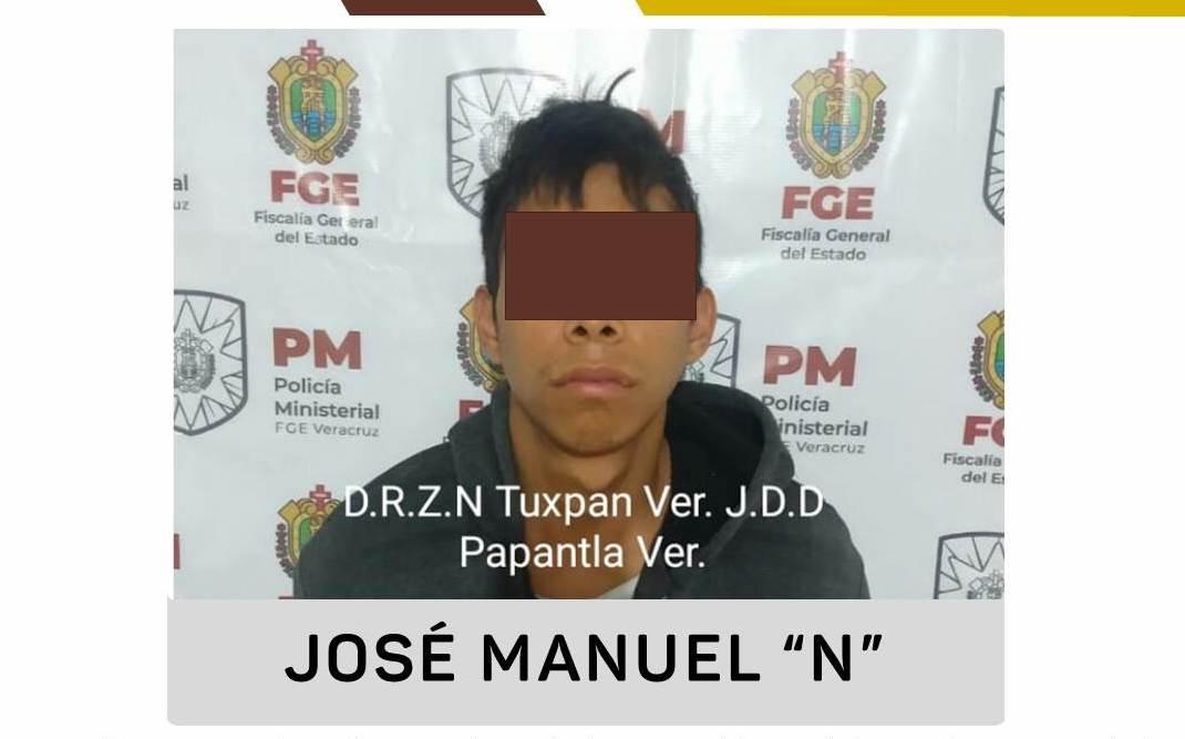 Tras plagiar y asesinar a menor, detienen a José Manuel