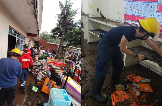 Hay 3 mil escuelas afectadas por Grace en Veracruz: SEV