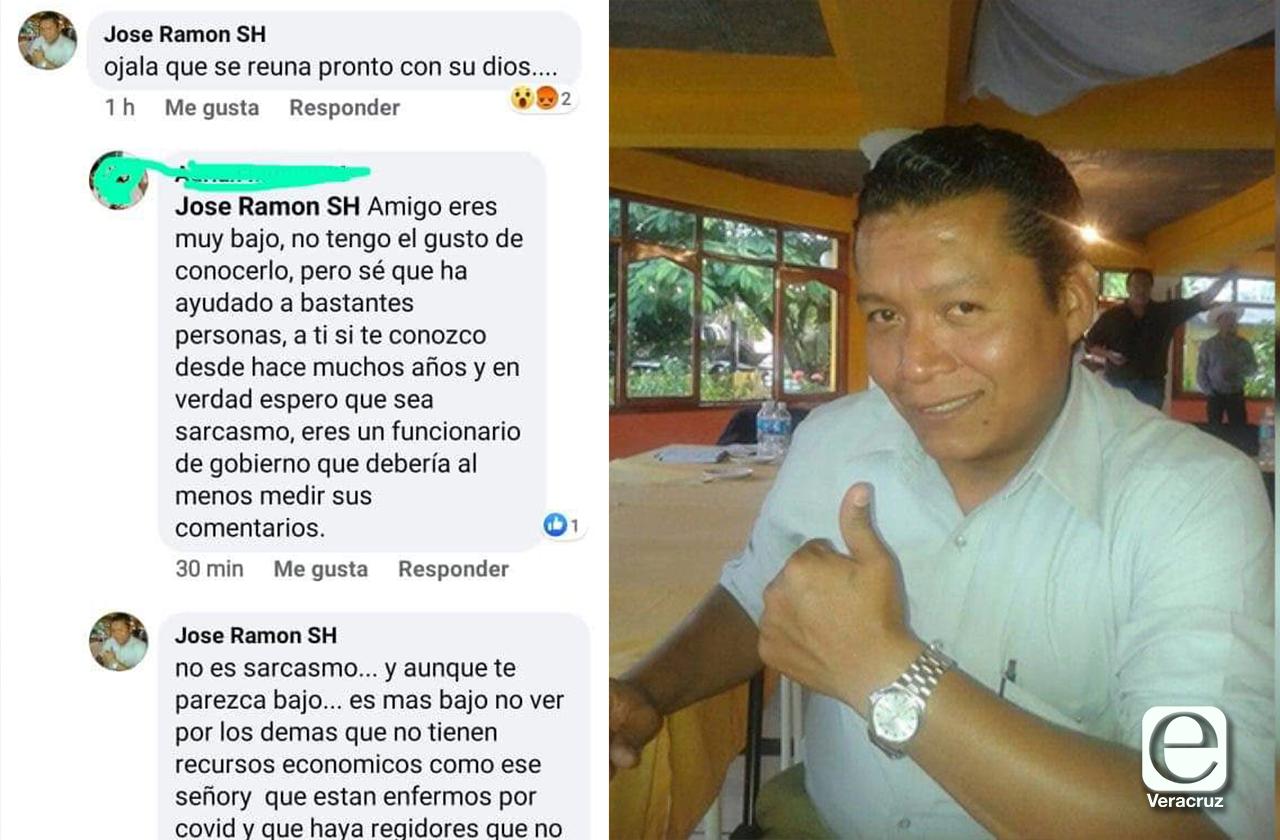 Delegado se retracta de desear muerte a médico de Orizaba