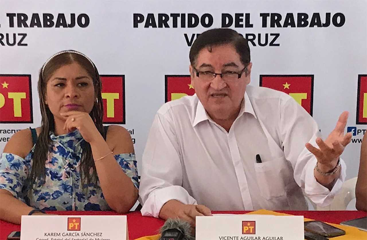Denuncia PT amenazas contra candidatos en Veracruz