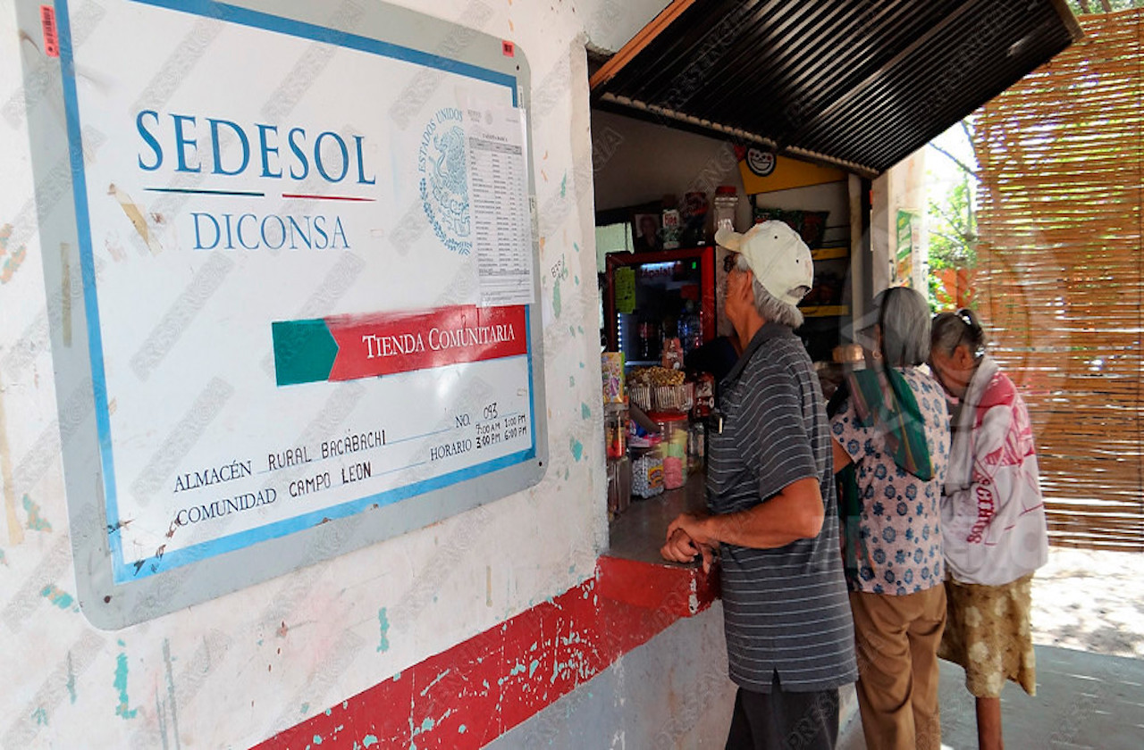Denuncian alzas en tiendas de Conasupo, en el sur