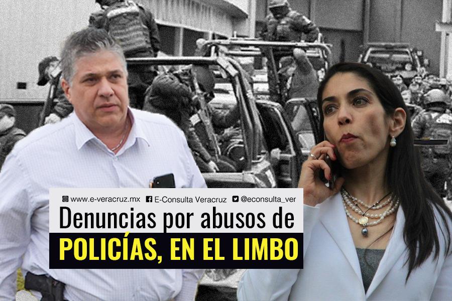 Fiscalía y SSP ocultan investigaciones contra policías de Veracruz