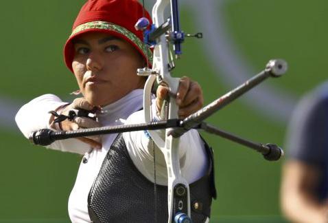 Alejandra Valencia acarició el bronce en tiro con arco