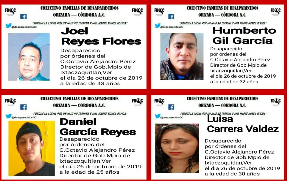 CEDH abre queja por desaparición de 7 comerciantes en Ixtaczoquitlán