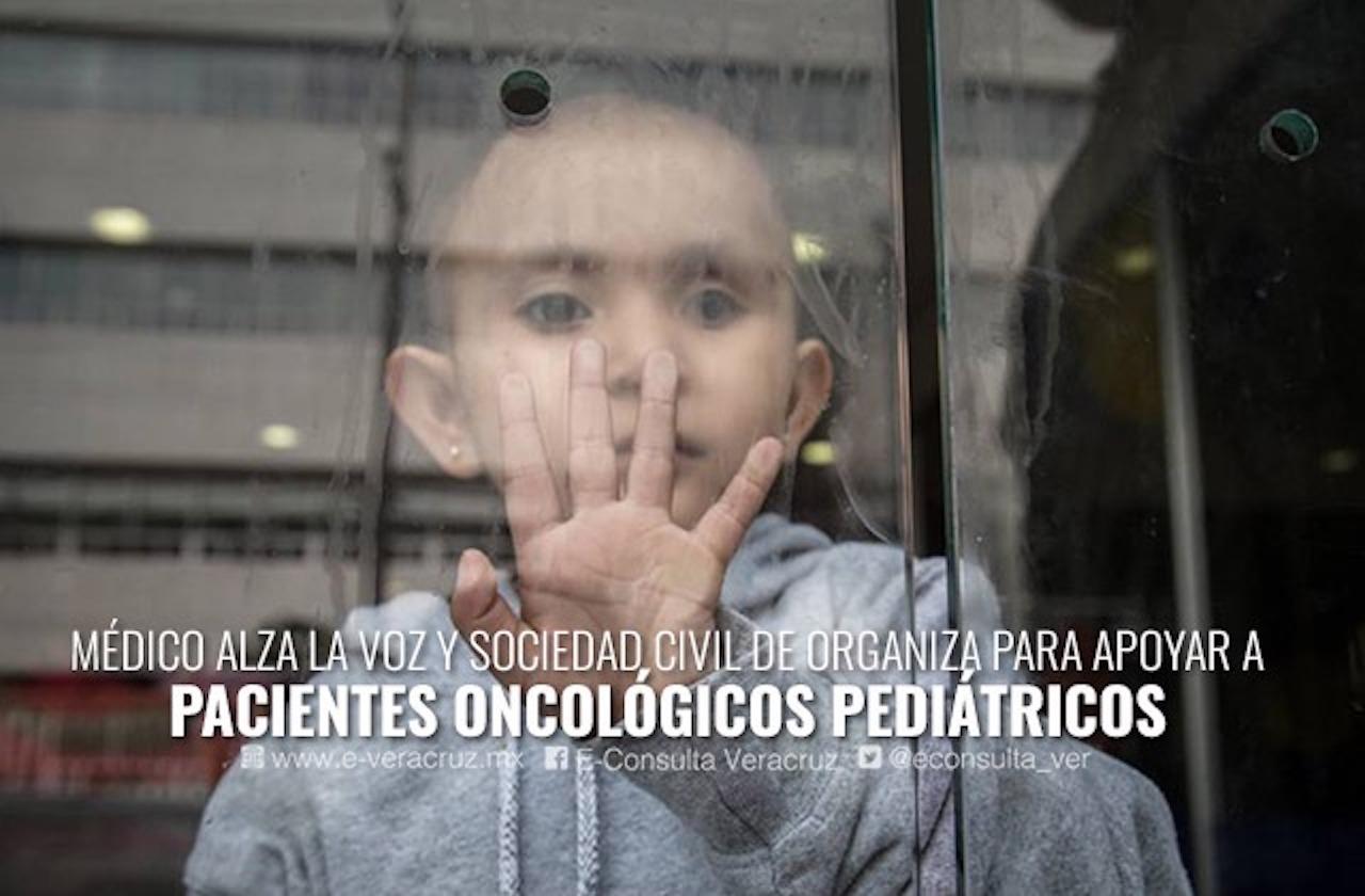 Falta de medicamento oncológico llama a la solidaridad en Veracruz
