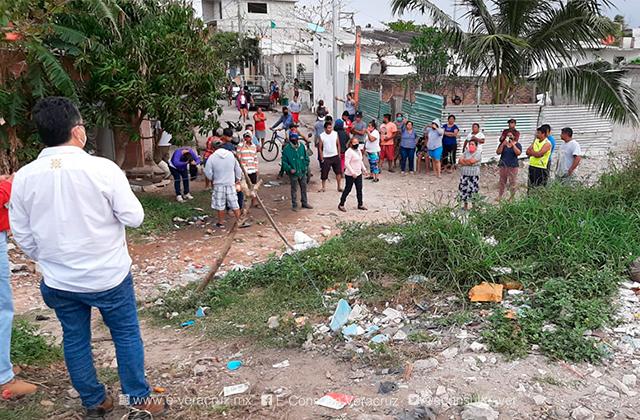 Desalojo de predio en Boca del Rio deja un muerto y varios heridos