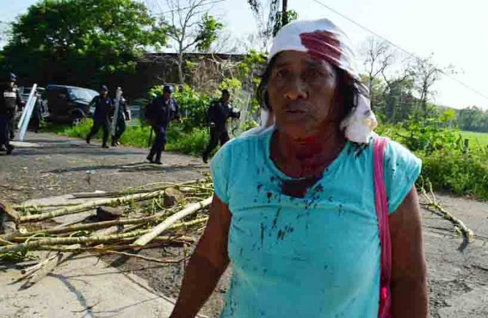 Diputado rechaza uso de la fuerza para desalojar manifestantes