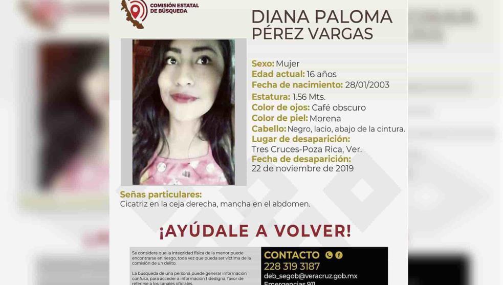 Reportan desaparición de otra joven estudiante, en Papantla