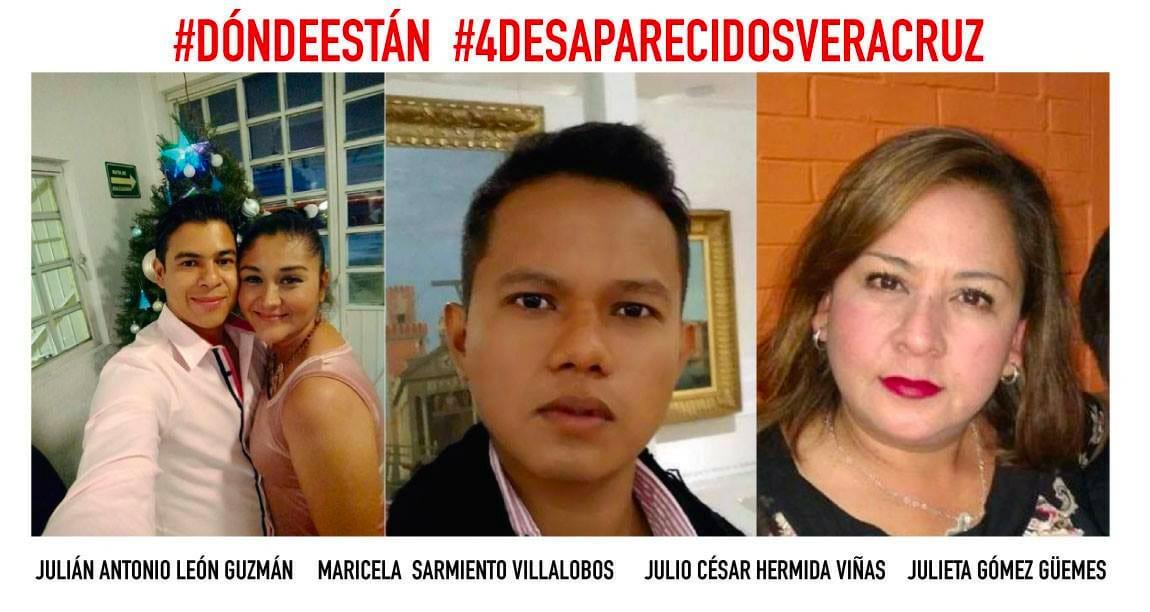 Hay 4 desaparecidos desde el 3 de febrero — Veracruz