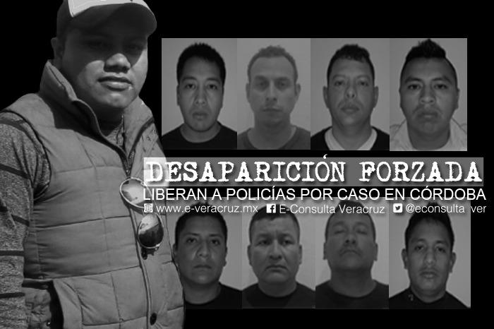 Con fianza de 15 mil pesos, juez libera a 8 expolicías presos por desaparición