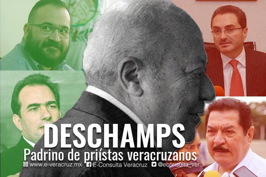 """Romero Deschamps, """"el padrino"""" de priistas veracruzanos"""