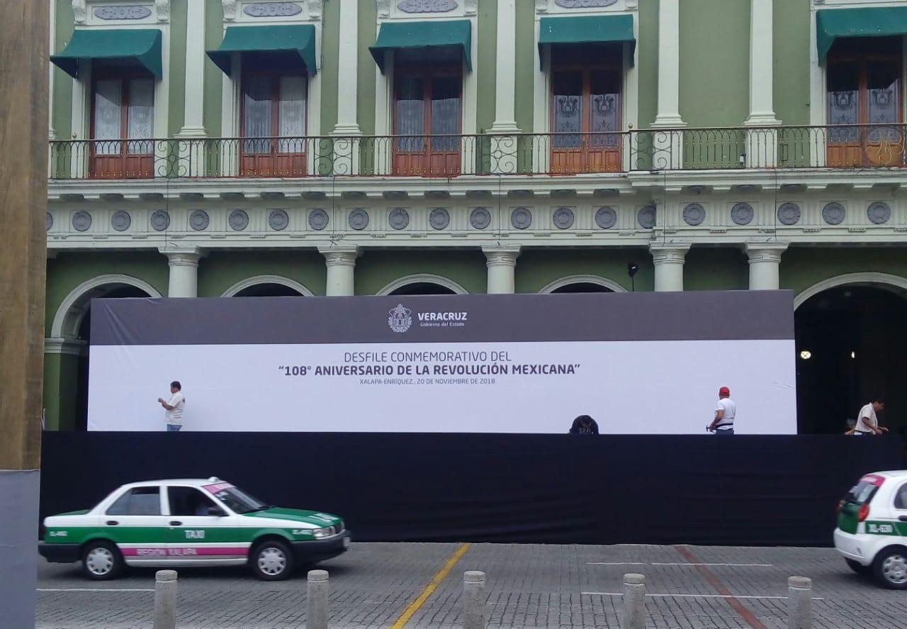 Desfile complicará tráfico vehicular en Xalapa este martes