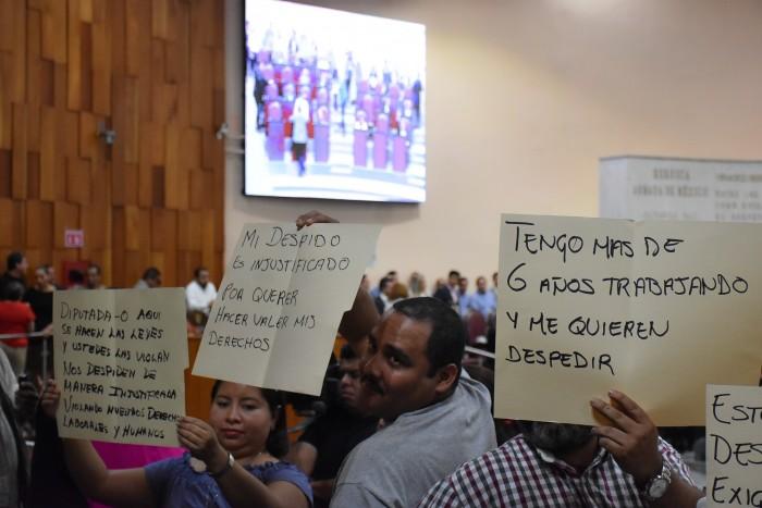 Congreso de Veracruz dará a conocer cuantos trabajadores serán despedidos