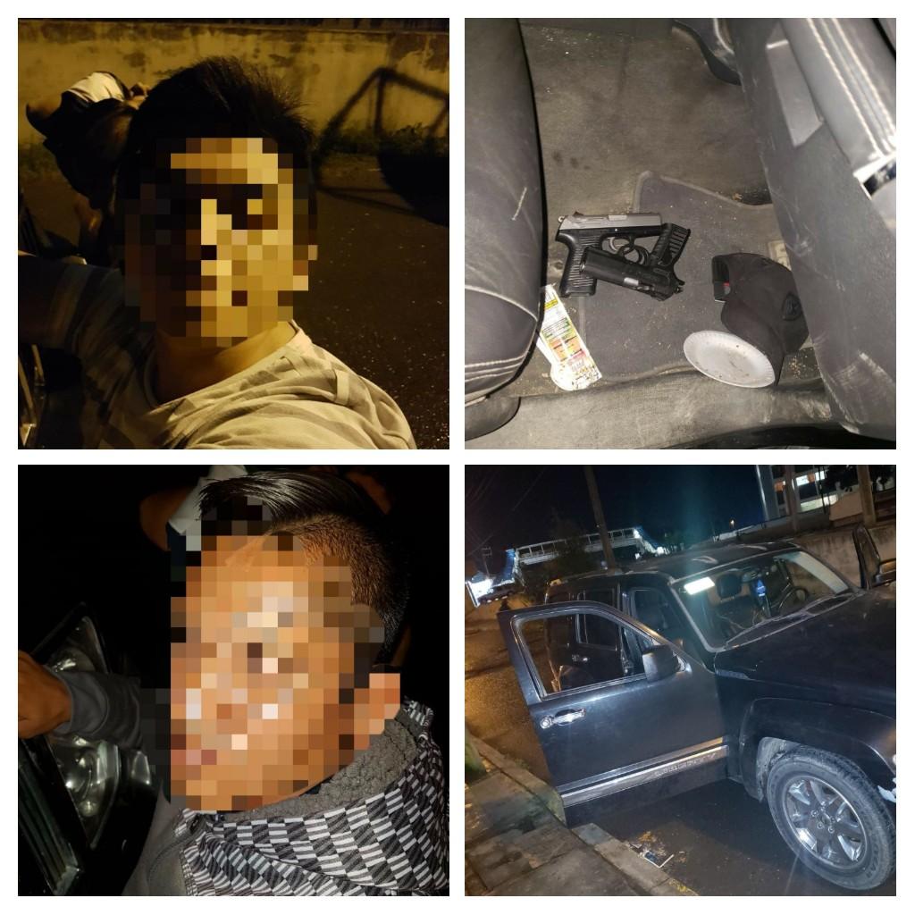 SSP y SEMAR detiene a tres hombres armados en Río Blanco
